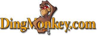 Ding Monkey Logo